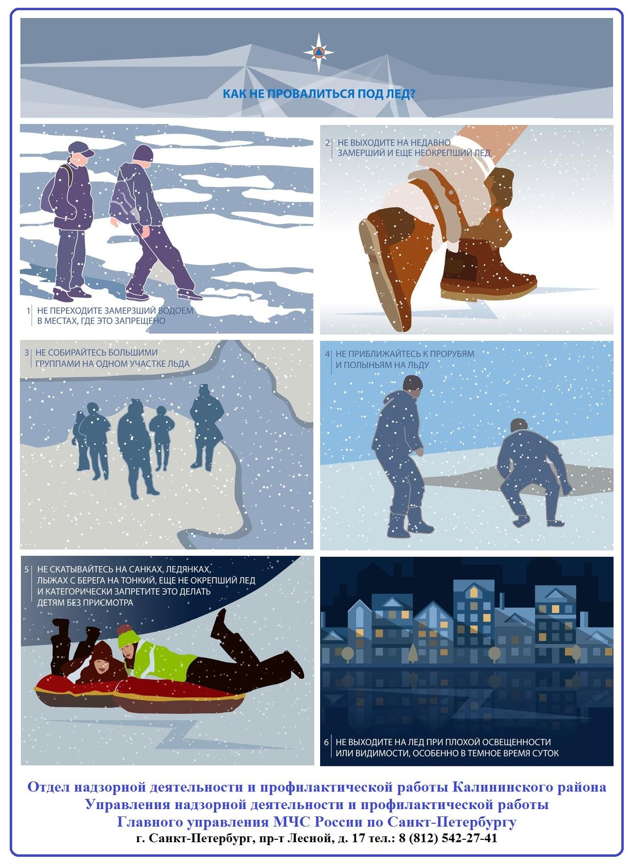 Как не провалиться под лед